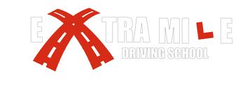 Extra Mile Driving School logo